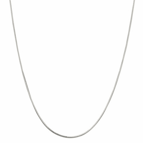 Square Snake Chain Necklaces