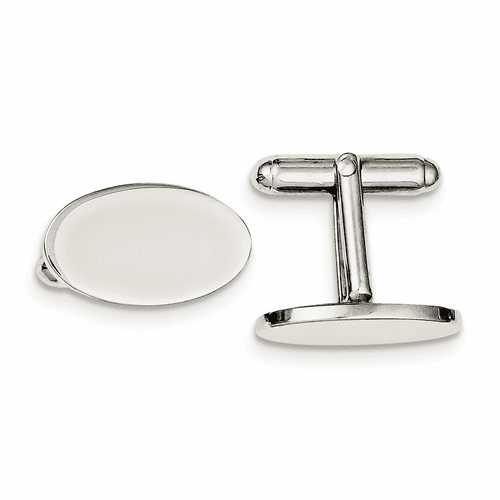Sterling Silver Cuff Links Qq167