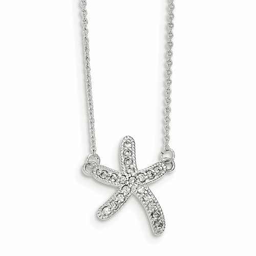 Sterling Silver CZ Necklaces