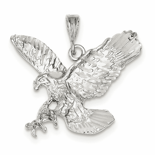 Sterling Silver Eagle Charm Qc865