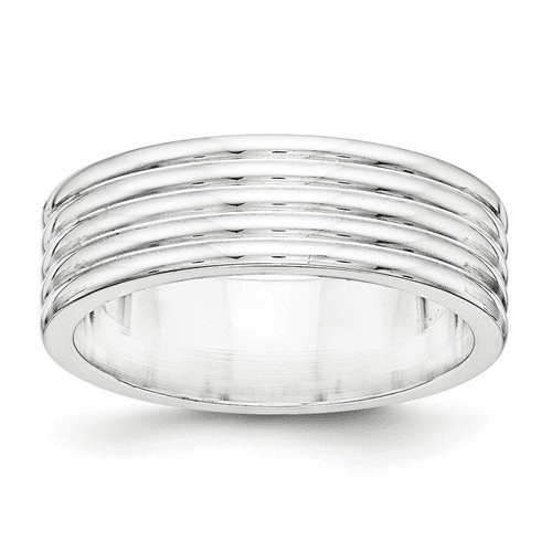 Sterling Silver Fancy Bands
