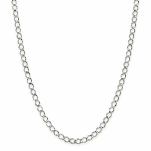 Sterling Silver Fancy Curb Chains