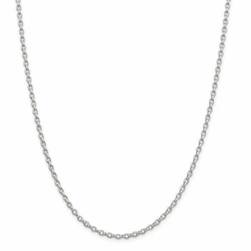 Sterling Silver Fancy Rolo Chain Necklaces