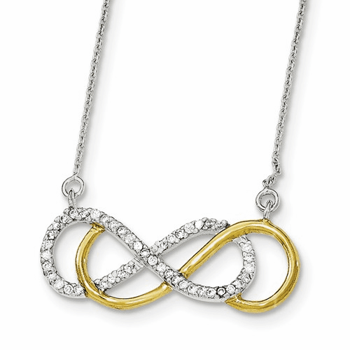 Sterling Silver Infinity Necklaces