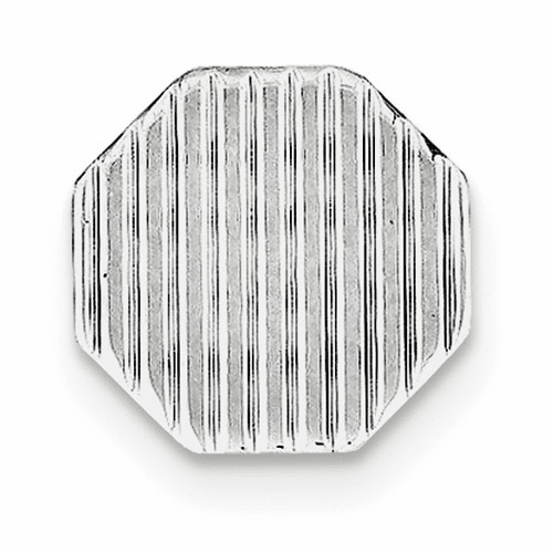 Sterling Silver Rhodium-plated Tie Tac Qq187