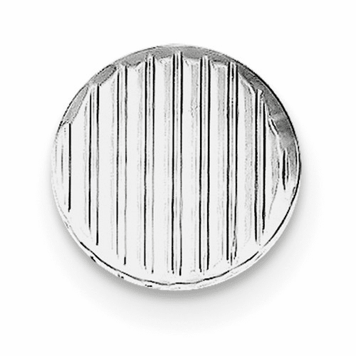 Sterling Silver Rhodium-plated Tie Tac Qq189