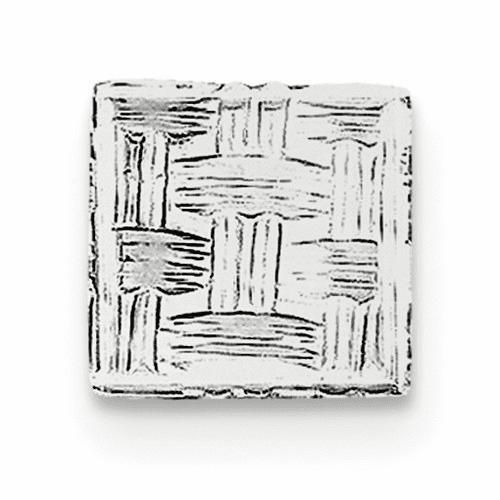 Sterling Silver Rhodium-plated Tie Tac Qq195