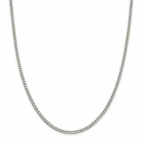 Sterling Silver Square Curb Chains