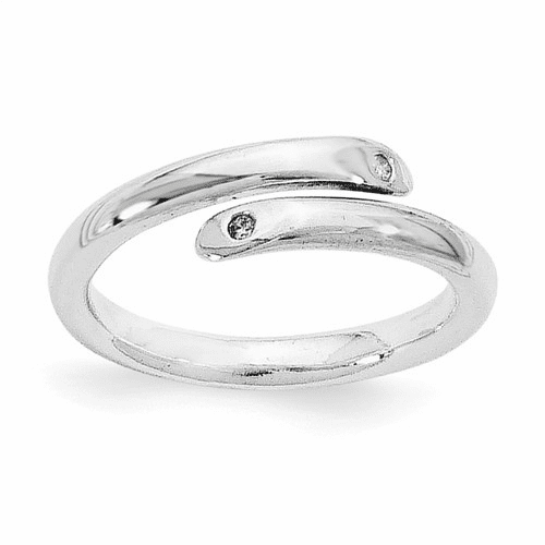 White Ice Silver Rings