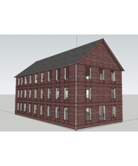Sketchup - Faces 2 Extruded Groups