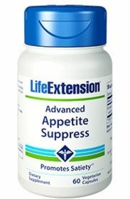Advanced Appetite Suppress - Life Extension - 60 Vegetarian Caps