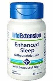 Enhanced Sleep without Melatonin - Life Extension - 30 Capsules