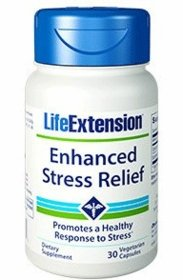 Enhanced Stress Relief - Life Extension - 30 Vegetarian Capsules