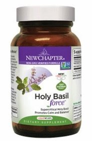 Holy Basil Force - New Chapter - 60 Softgels