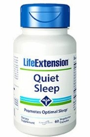Quiet Sleep - Life Extension - 60 Vegetarian Capsules - TwinPak