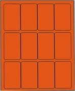 2 X 3 1/2 BRILLIANT ORANGE