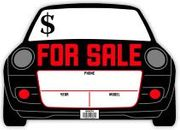 FOR SALE SIGN 10 X 14 PLASTIC