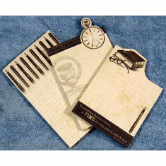 3 Die cut Christian Notepads Set