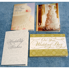 A Day To Remember - 12 Wedding Greeting Cards