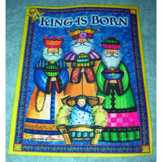 A King is Born Banner