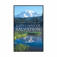 A Simple Outline of God's Way of Salvation (25-pack)