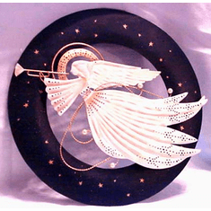 Angel Wall Hanging--All That Glitters