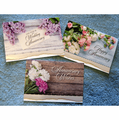 Anniversary - Love Lifelong -12 Greeting Cards
