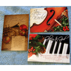 At Christmas Time-12 Christian Greeting Cards
