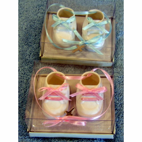 Baby Baptism-Ornament Booties