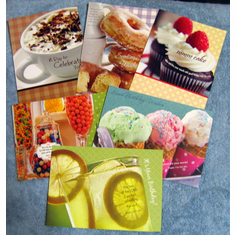 Birthday Treats- 12 Premium Greeting Cards