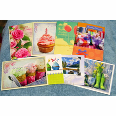 Birthday Value Box - 24 Greeting Cards