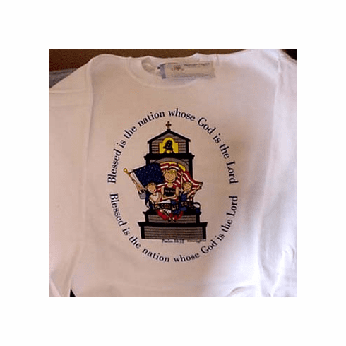 Blessed is the Nation--Sweatshirt-Children