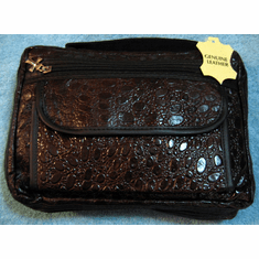 Brown Genuine Leather Bible/Book Cover