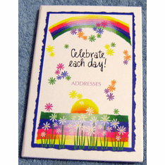Celebrate Each Day- Address Book