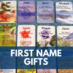 Christian First Name Gifts