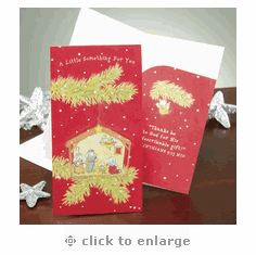 Christmas Money Card – Really Woolly- Box Cards