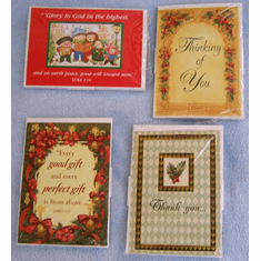 Christmas Notes-4 Pack Assortment