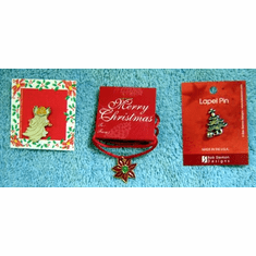 Christmas Pins & Pendent