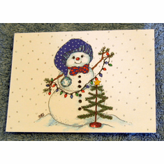 Christmas Snowman Notes-Pack of 20