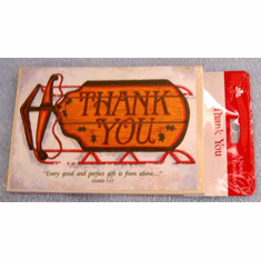 Christmas Thank You Notes-Deluxe