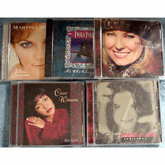 Christmas-Top Female Artists-CDs