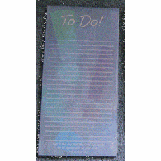 Deluxe Magnetic Memo Pad-To Do