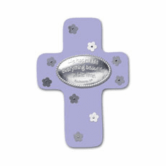 Everything Beautiful Cross Plaque