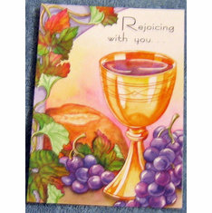 First Communion- Pack of 10 Greeting Cards