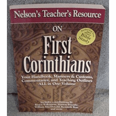 First Corinthians-Nelson's Teacher's Resource