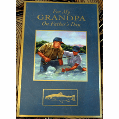 Fishing With Grandpa Fathers Day Card