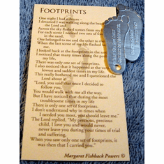 Footprints - pack of 10