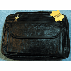 Genuine Black Leather Bible/Book Cover