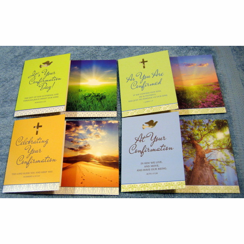 Gift of the Spirit -12 Confirmation Cards