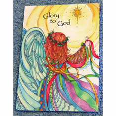 Glory To God- 20-Christmas Notes Cards